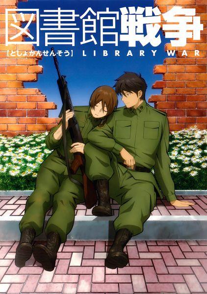 Toshokan Sensou (Library War)