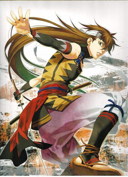 Tags: Anime, Kazuki Yone, Hakuouki Shinsengumi Kitan, Toudou Heisuke (Hakuouki), Mobile Wallpaper, Scan, Official Art, Calendar (Source)