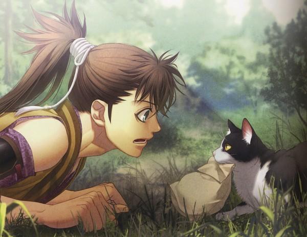 Tags: Anime, Kazuki Yone, IDEA FACTORY, Hakuouki Shinsengumi Kitan, Toudou Heisuke (Hakuouki), Official Art, Scan
