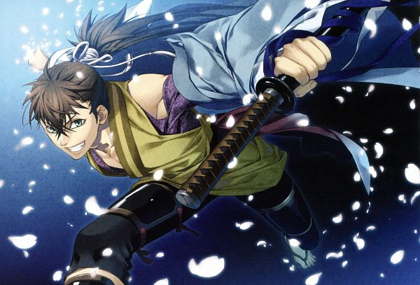 Tags: Anime, Hakuouki Shinsengumi Kitan, Scan, Official Art