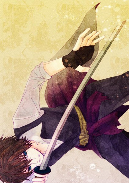 Tags: Anime, Hakuouki Shinsengumi Kitan, Toudou Heisuke (Hakuouki), Mobile Wallpaper