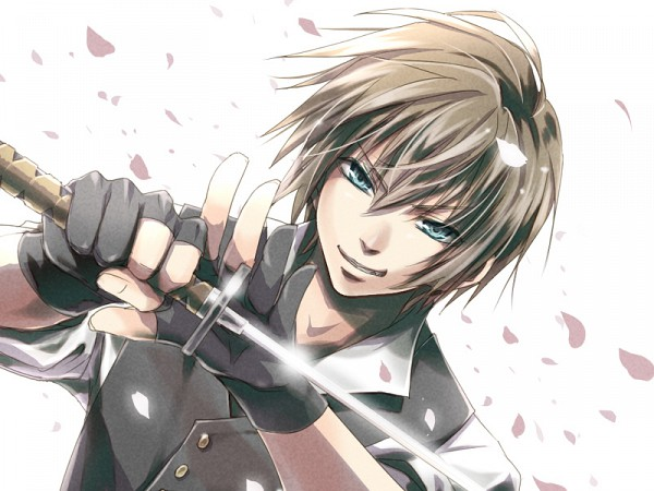 Tags: Anime, Kurumi (Pixiv1223400), Hakuouki Shinsengumi Kitan, Toudou Heisuke (Hakuouki), Pixiv, Fanart