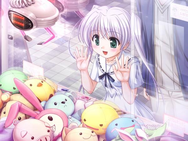 Tags: Anime, Bekkankou, August (Studio), Fortune Arterial, Tougi Seichirou, Tougi Shiro, Crane, Claw Machine, CG Art