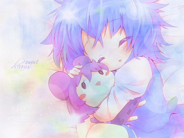 Tags: Anime, Ayakashi (Monkeypanch), Touhou, Tatara Kogasa, Nazrin, Edited, Fanart, Wallpaper, Touhou Project
