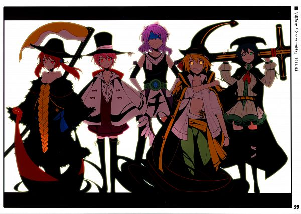 Tags: Anime, Ideolo, NEKO WORKi, IRO GAME, Touhou, Rumia, Murasa Minamitsu, Mystia Lorelei, Letty Whiterock, Onozuka Komachi, ONE PIECE (Cosplay), Scan, Comic Market 81