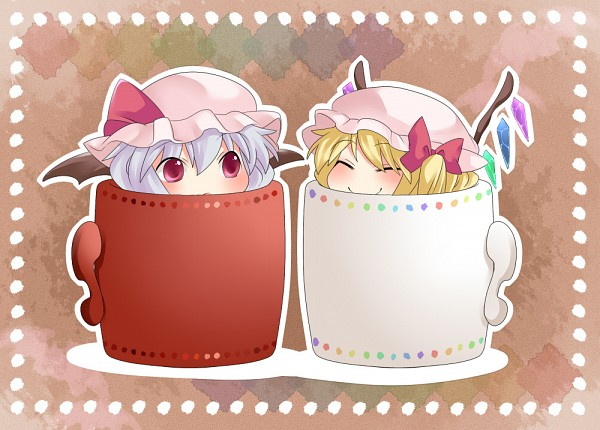 Tags: Anime, Hammer (Sunset Beach), Touhou, Flandre Scarlet, Remilia Scarlet
