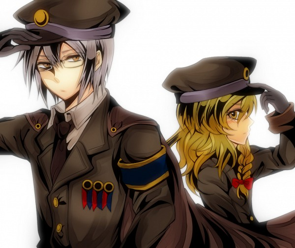 Tags: Anime, Shi Sei, Touhou, Morichika Rinnosuke, Kirisame Marisa, The Imperial Gensokyo Army