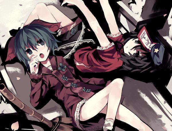 Tags: Anime, Govurin, Touhou, Miyako Yoshika, Kasodani Kyouko, Pixiv, Fanart, Fanart From Pixiv, Revision
