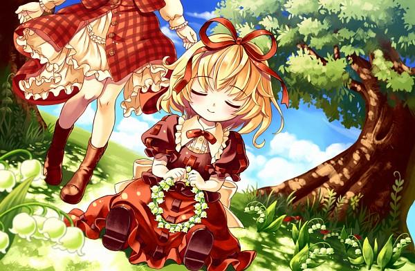 Tags: Anime, Gorota, Seihou, Touhou, Kazami Yuuka (Seihou), Kazami Yuuka, Medicine Melancholy, Pixiv, Fanart From Pixiv, Fanart