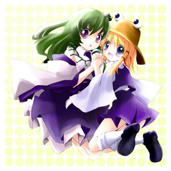 Tags: Anime, Touhou, Kochiya Sanae, Moriya Suwako