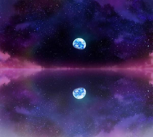 Tags: Anime, Pfalz, Touhou, Water Reflection, PNG Conversion