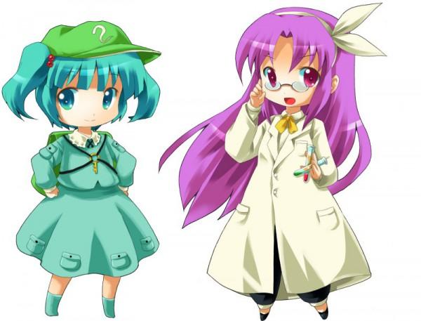 Tags: Anime, Michii Yuuki, Touhou, Kawashiro Nitori, Asakura Rikako, Scientist, Pixiv, PC-98 Touhou Era