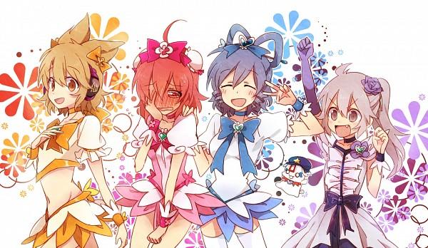 Tags: Anime, Ryuck 6, Touhou, Ibaraki Kasen, Mononobe no Futo, Toyosatomimi no Miko, Kaku Seiga, Miyako Yoshika, Cure Moonlight (Cosplay), Cure Sunshine (Cosplay), Cure Blossom (Cosplay), Facepalm, Cure Marine (Cosplay)