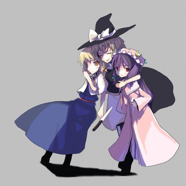 Tags: Anime, Touhou, Alice Margatroid, Kirisame Marisa, Patchouli Knowledge