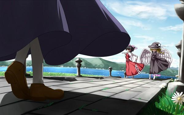 Tags: Anime, Pixiv Id 290273, Seihou, Touhou, VIVIT, Kirisame Marisa, Hakurei Reimu, Kirisame Marisa (Seihou)