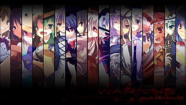 Tags: Anime, T-RAy, Touhou, Yasaka Kanako, Yakumo Yukari, Fujiwara no Mokou, Moriya Suwako, Yagokoro Eirin, Hinanawi Tenshi, Ibuki Suika, Flandre Scarlet, Kamishirasawa Keine, Remilia Scarlet