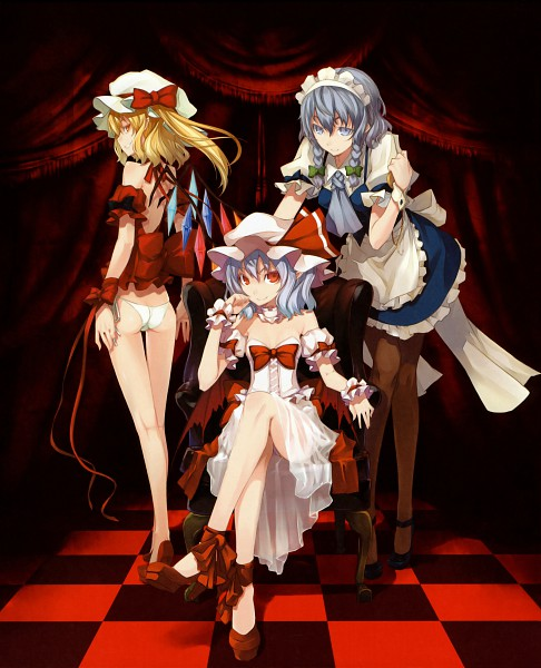 Tags: Anime, Shingo (Missing Link), the WORLD, Touhou, Flandre Scarlet, Izayoi Sakuya, Remilia Scarlet