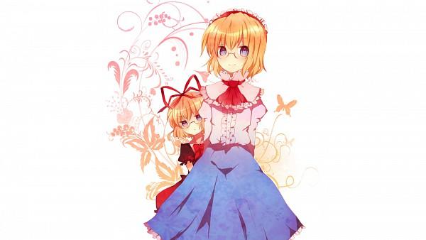 Tags: Anime, Touhou, Alice Margatroid, Medicine Melancholy, Hiding, HD Wallpaper, Wallpaper