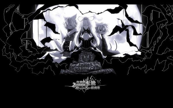 Tags: Anime, Tan (Carbon), Touhou, Koumajou Densetsu, Chen, Yakumo Ran, Yakumo Yukari, 4000x2500 Wallpaper, Wallpaper, HD Wallpaper