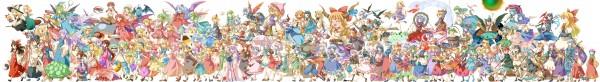 Tags: Anime, Michii Yuuki, Touhou, Chen, Mizuhashi Parsee, Lily Black, Sunflower Fairy, Rumia, Luna Child, Sara (Touhou), Hakurei Reimu, Houraisan Kaguya, Hijiri Byakuren