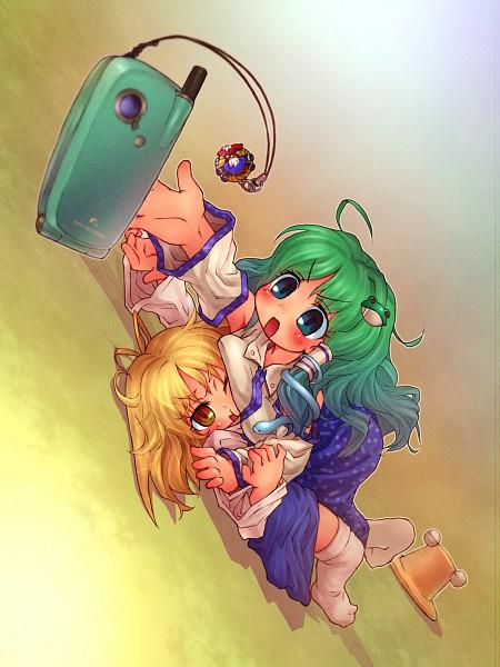 Tags: Anime, Touhou, Moriya Suwako, Kochiya Sanae