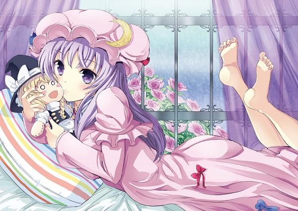 Tags: Anime, Gin'ichi (Akacia), Touhou, Patchouli Knowledge, Kirisame Marisa