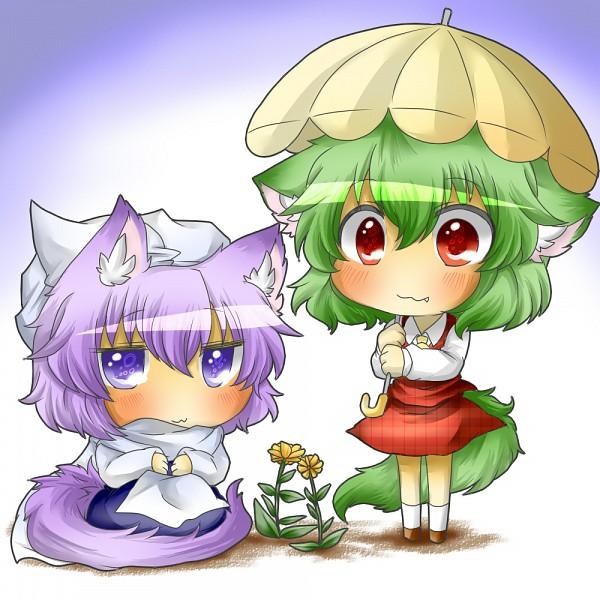 Tags: Anime, Naononakukoroni, Touhou, Letty Whiterock, Kazami Yuuka, Fanart, Pixiv