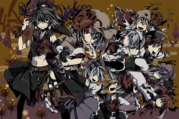 Tags: Anime, Cerberus-13, The Embodiment of Scarlet Devil, Touhou, Patchouli Knowledge, Hong Meiling, Izayoi Sakuya, Rumia, Remilia Scarlet, Shameimaru Aya, Cirno, Flandre Scarlet, Hakurei Reimu
