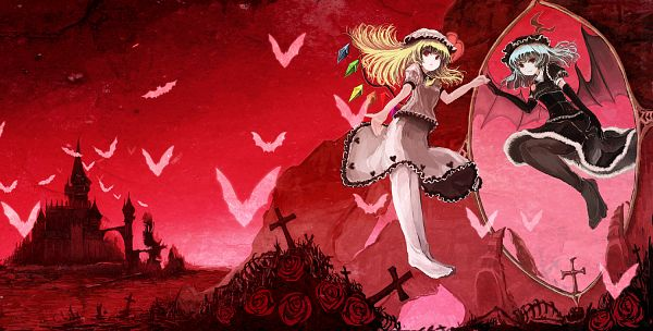 Tags: Anime, Ashiyama Yoshinori, Touhou, Flandre Scarlet, Remilia Scarlet