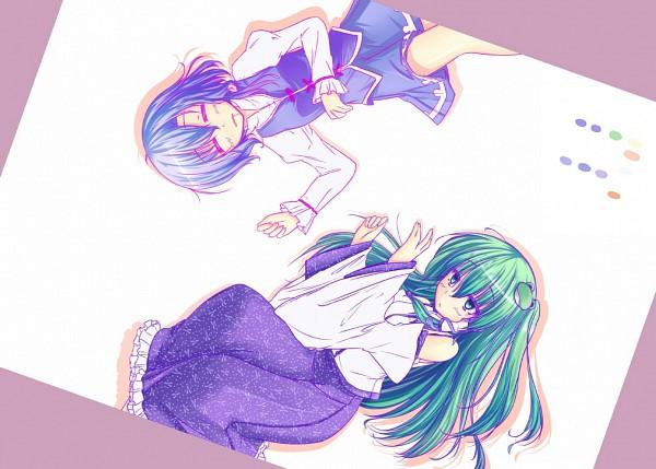 Tags: Anime, Pixiv Id 135409, Touhou, Tatara Kogasa, Kochiya Sanae, Ikoo, KogaSana