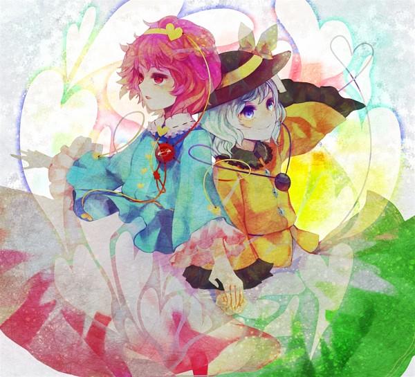 Tags: Anime, Xero (artist), Touhou, Komeiji Satori, Komeiji Koishi, Fanart, Pixiv