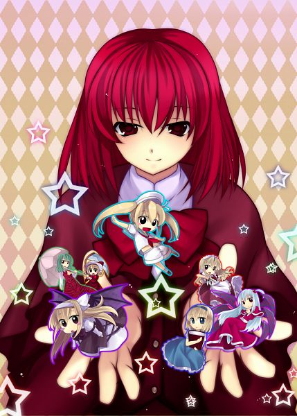 Tags: Anime, Tatsuyoshi, Touhou, Yumeko, Elly, Shinki, Kitashirakawa Chiyuri, Kazami Yuuka, Alice Margatroid (Young), Okazaki Yumemi, Alice Margatroid, Kurumi (Touhou), Pixiv