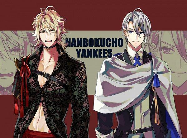 Tags: Anime, Pixiv Id 1710552, Touken Ranbu, Nansen Ichimonji, Yamanbagiri Chougi, Violent Blade Dance