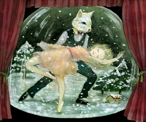 Tags: Anime, Touko (Pixiv47939), Snow Globe, Animal Head, Ballerina Outfit, Pixiv, Original