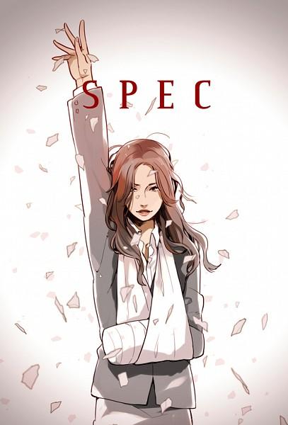 Tags: Anime, Sensei97, SPEC, Touma Saya, Arm Sling, Mobile Wallpaper, Pixiv, Fanart