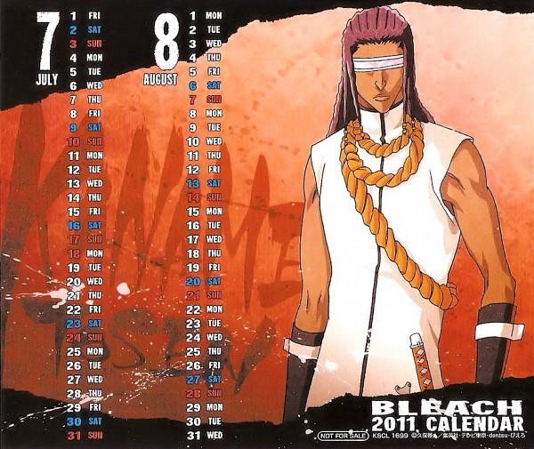 Tags: Anime, BLEACH Calendar 2011, BLEACH, Tousen Kaname, Blind, Calendar 2011, Calendar (Source), Official Art, Gotei 13