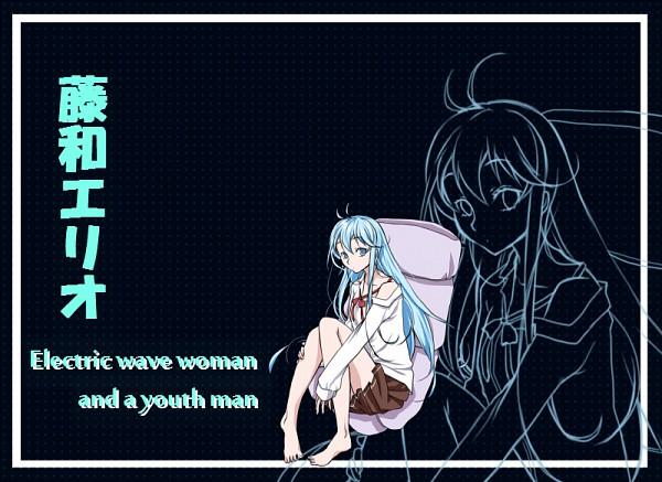 Tags: Anime, Pixiv Id 2527937, Denpa Onna to Seishun Otoko, Touwa Erio