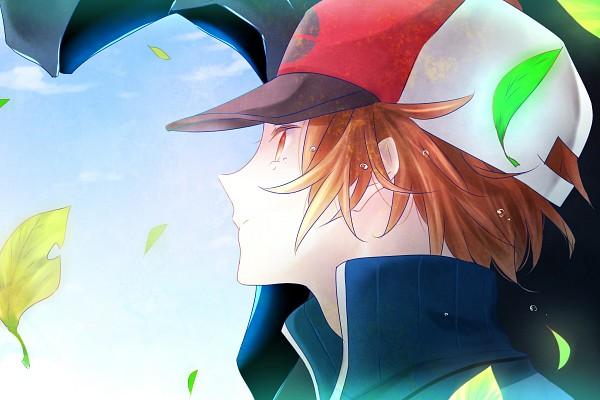 Tags: Anime, Hii101, Pokémon, Touya (Pokémon), Fanart, Fanart From Pixiv, Pixiv, Hilbert (pokémon)