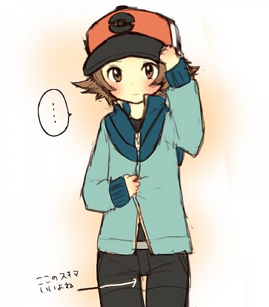 Tags: Anime, Pixiv Id 4292250, Pokémon, Touya (Pokémon), Hilbert (pokémon)
