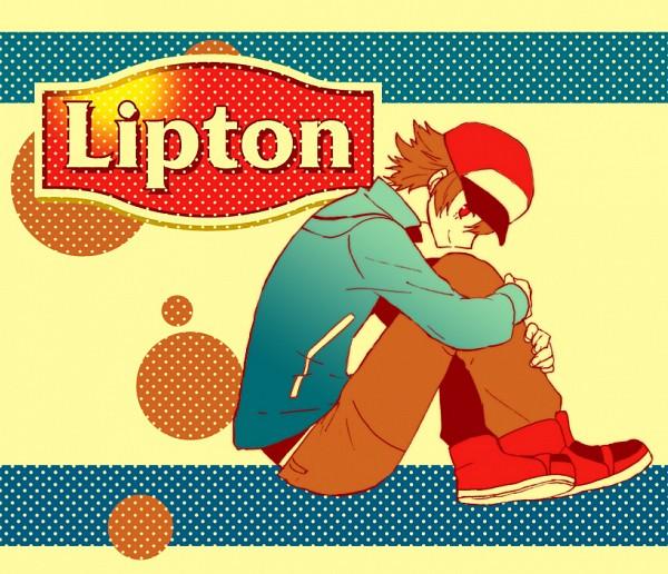 Tags: Anime, Pixiv Id 1642557, Pokémon, Touya (Pokémon), Lipton, Pixiv, Hilbert (pokémon)