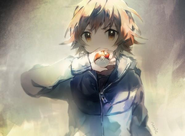 Tags: Anime, Namie-kun, Pokémon, Touya (Pokémon), No Hat, Tumblr, Fanart, PNG Conversion, Twitter, Hilbert (pokémon)