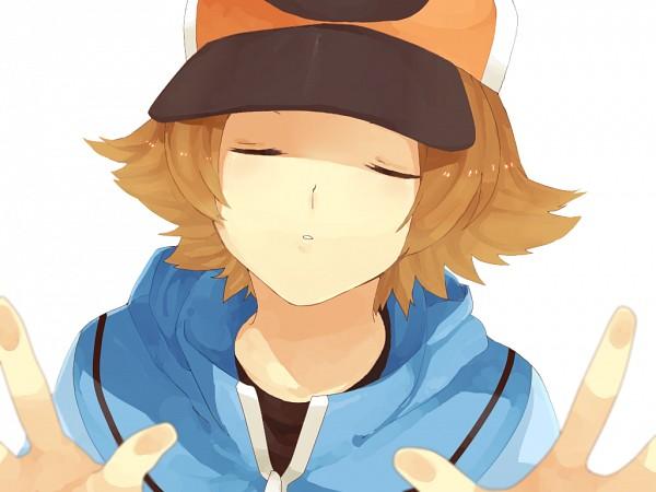 Tags: Anime, Pixiv Id 672826, Pokémon, Touya (Pokémon), Pixiv, Fanart, Hilbert (pokémon)