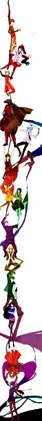 Tags: Anime, Tower of God, Androssi Zahard, Twenty-fifth Baam, Koon Agero Agnis, Anak Zahard, Yeon Yihwa, Hanging Chain, Lahel, Phonsekal Laure, Rak Wraithraiser, Baam, Lero-ro