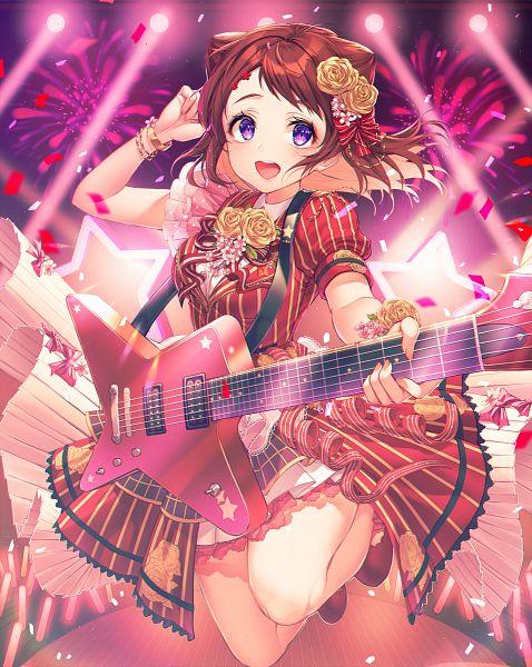 Tags: Anime, Kinty, BanG Dream! Girls Band Party!, BanG Dream!, Toyama Kasumi