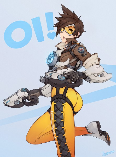 Tags: Anime, Pixiv Id 11844052, Overwatch, Tracer, Pixiv, Mobile Wallpaper, Fanart, Fanart From Pixiv