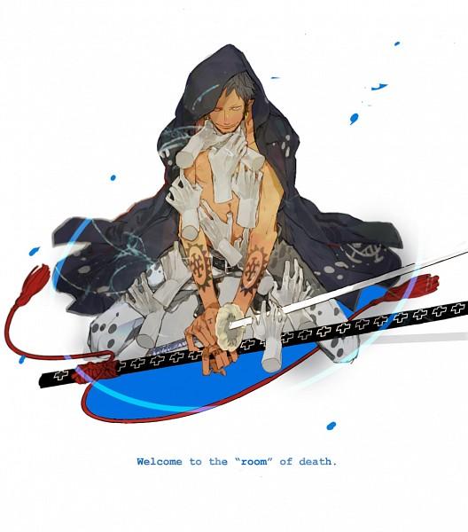 Tags: Anime, Natsume Kazuki, ONE PIECE, Trafalgar Law, Fanart From Pixiv, Fanart, Pixiv, Heart Pirates