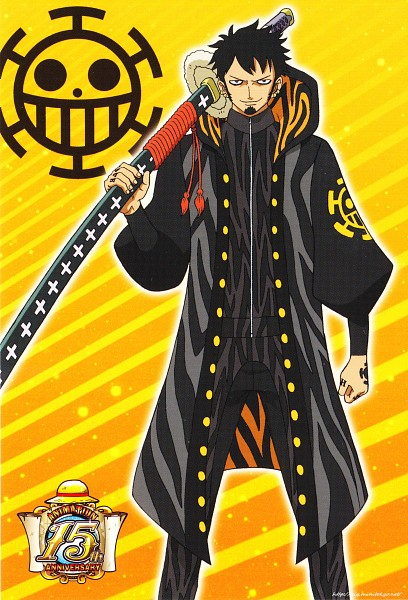 Tags: Anime, Toei Animation, ONE PIECE, Trafalgar Law, One Piece: Two Years Later, Official Art, Mobile Wallpaper