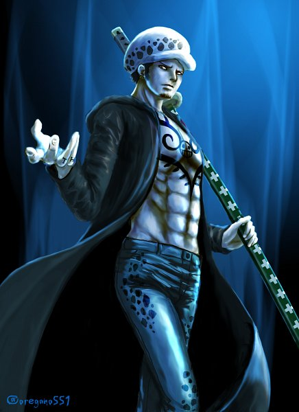 Tags: Anime, Pixiv Id 3147895, ONE PIECE, Trafalgar Law, Fanart From Pixiv, Fanart, One Piece: Two Years Later, Pixiv