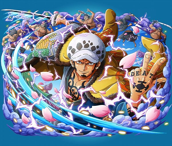 Tags: Anime, ONE PIECE, ONE PIECE: Treasure Cruise, Trafalgar Law, One Piece: Two Years Later, Official Art, Wano Kuni