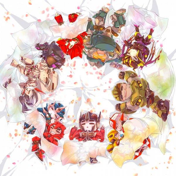 Tags: Anime, Pixiv Id 1840724, Transformers, Ratchet (Transformers), Soundwave (Transformers), Knockout (Transformers), Starscream, Breakdown (Transformers Prime), Cliffjumper, Megatron, Airachnid, Bumblebee, Bulkhead